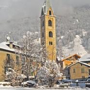 Snow in Bormio!