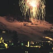Fuochi d'artificio sulla Stelvio