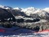 Dopo le nevicate della scorsa notte il paesaggio da qui è ancor più suggestivo - After the heavy snowfall the landscape is even more exciting! Bormio Downhill World Cup