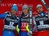 Ski World Cup 2017/2018Bormio,Italy 29/12/2017.Peter Fill (Ita) Alexis Pinturault (Fra) Kjetil Jansrud (Nor)  .  photo:Pentaphoto/Alessandro Trovati.