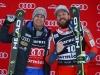 Ski World Cup 2017/2018Bormio,Italy 29/12/2017.Alexis Pinturault (Fra) Kjetil Jansrud (Nor)..  photo:Pentaphoto/Alessandro Trovati.