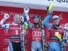 Ski World Cup 2016-2017.Marcel Hirscher (AUT) Alexis Pinturault (FRA)  Aleksander Aamodt Kilde (NOR).  Santa Caterina Val Furva 29 dec. 2017 Photo  (Marco Trovati Pentaphoto-Mateimage)