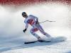 Bormio 29 dic. 2010--L'austriaco Micheal Walchhofer vincitore della libera al traguardo.(armando trovati)