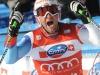 Bormio 29 dic. 2010--Silvan Zurbeiggen,Svizzera,secondo posto nella libera al traguardo.(armando trovati)