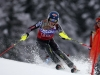 Mikaela Shiffrin in azione! Mikaela Shiffrin on course, racing hard! Credits: A. Trovati/Pentaphoto