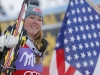 Mikaela Shiffrin, the stars and stripes girl in Bormio Mikaela Shiffrin, stella a stelle e strisce a Bormio! Credits: A. Trovati/Pentaphoto