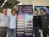 Campioni di ieri e di oggi, protagonisti delle prove di Coppa: Pietro Vitalini (in rappresentanza di Bormio) , Giorgio Rocca, Davide Simoncelli e Kristian Ghedina (Credits: Pentaphoto/Dida)