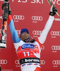 Didier Defago, primo classificato Bormio 2011 - Credits//AP Photo/Alessandro
